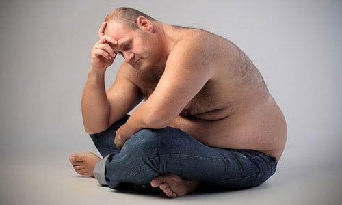 Наличие лишнего веса приносит множество огорчений