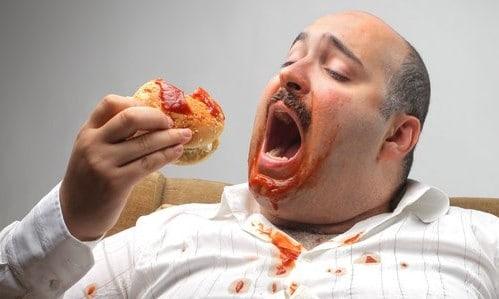 Фастфуд очень вреден при диете