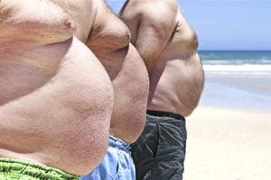 Пагубное влияние жира на организм мужчины