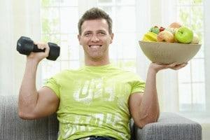 Диета и спорт помогут избавиться от жира