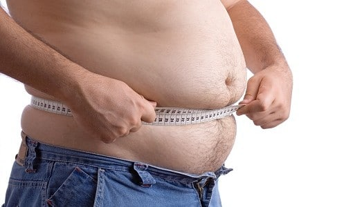 Избыток жировых отложений на животе