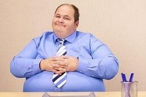 Сидячая работа способствует набору веса