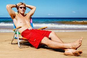 Чрезмерные солнечные ванны опасны для здоровья