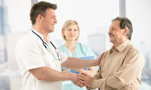 На врачебной консультации