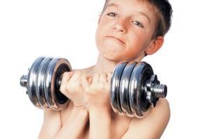 Подросток-спортсмен