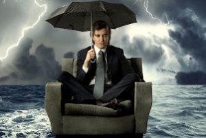 Сильный шторм